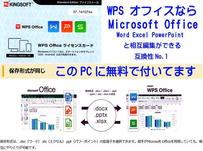 WPS office付属