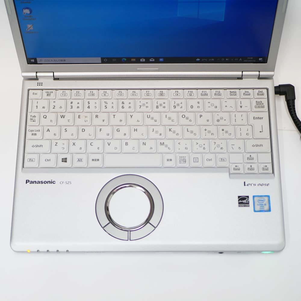 Panasonic Let's note CF-SZ5のキーボード