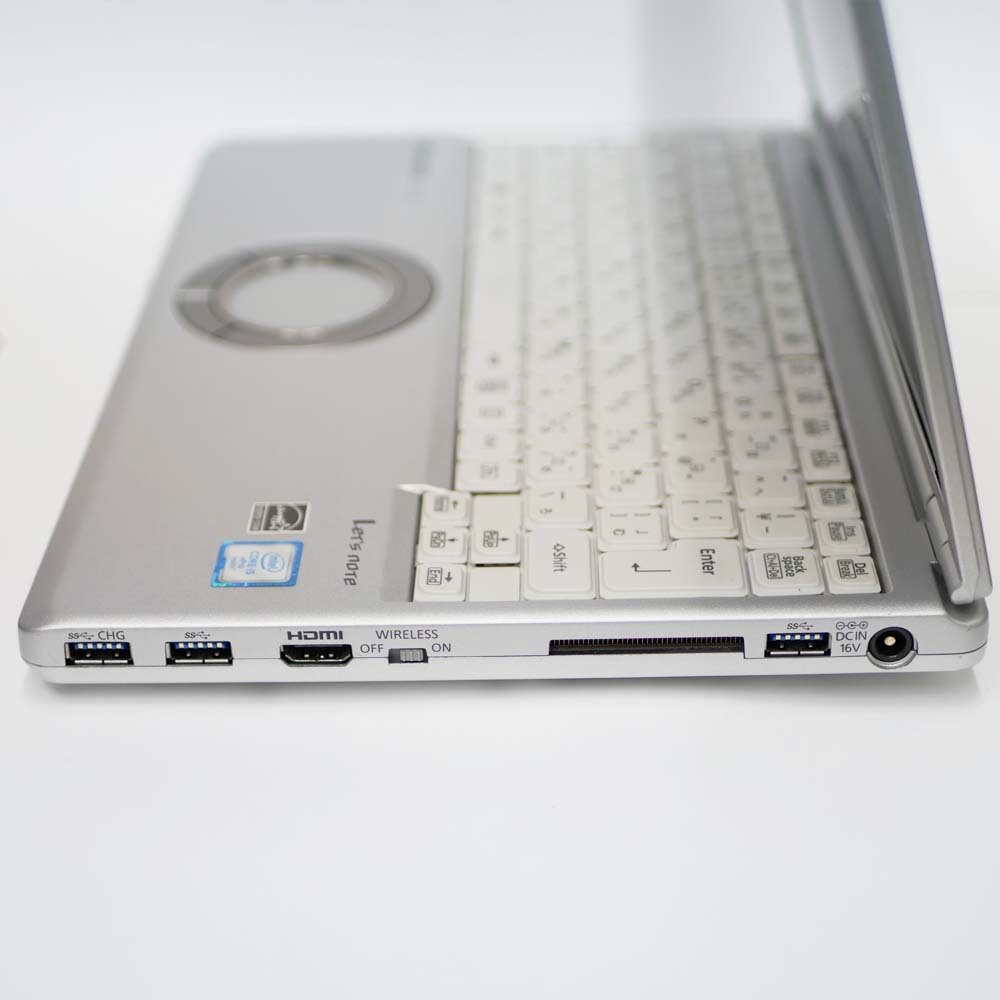 Panasonic Let's note CF-SZ5の右側面