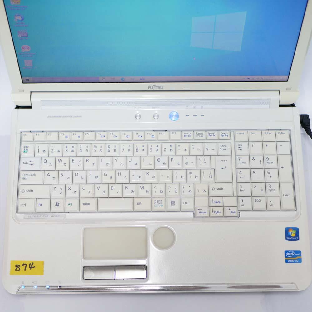 富士通 LIFEBOOK A56/Dのキーボード