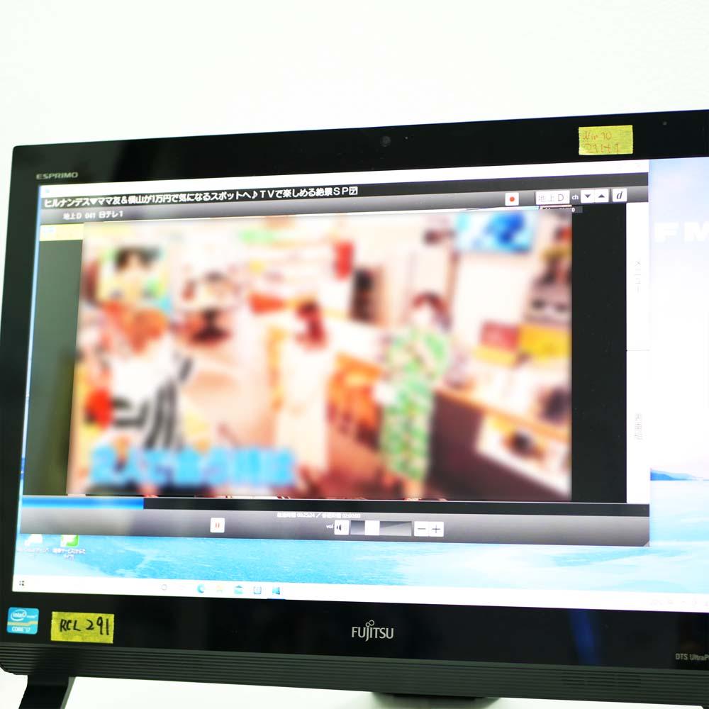 FMV ESPRIMO FH56/KDのテレビ