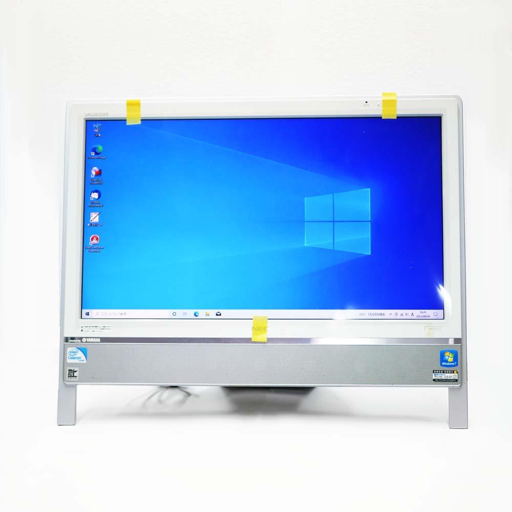 NEC ValueStar N VN370/CS6Wの前面