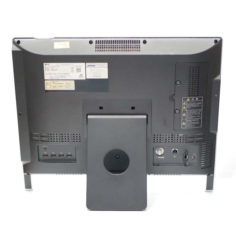 NEC ValueStar N VN370/CS6Wの背面