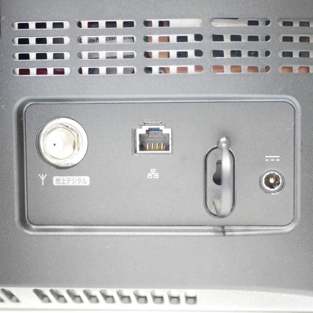 NEC ValueStar N VN370/CS6Wの背面端子類