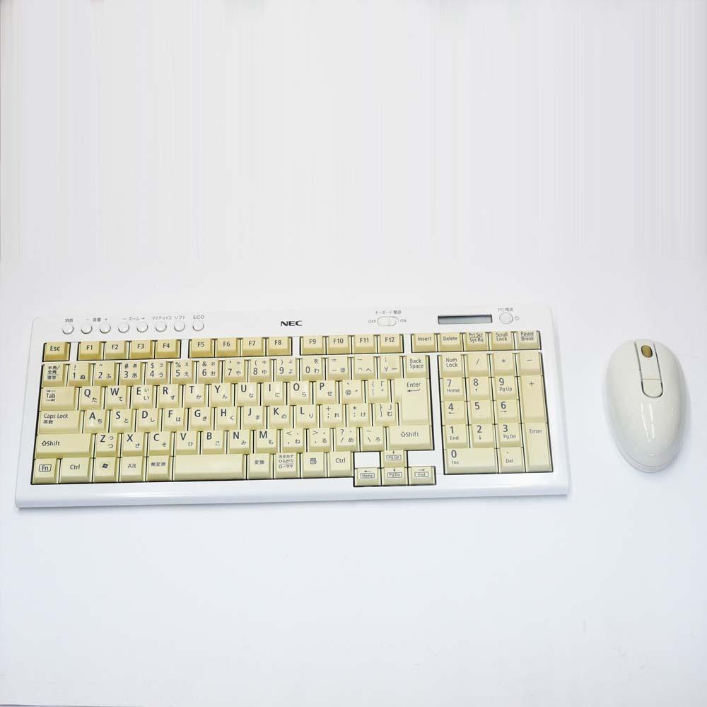 NEC ValueStar N VN370/CS6Wのキーボード&マウス
