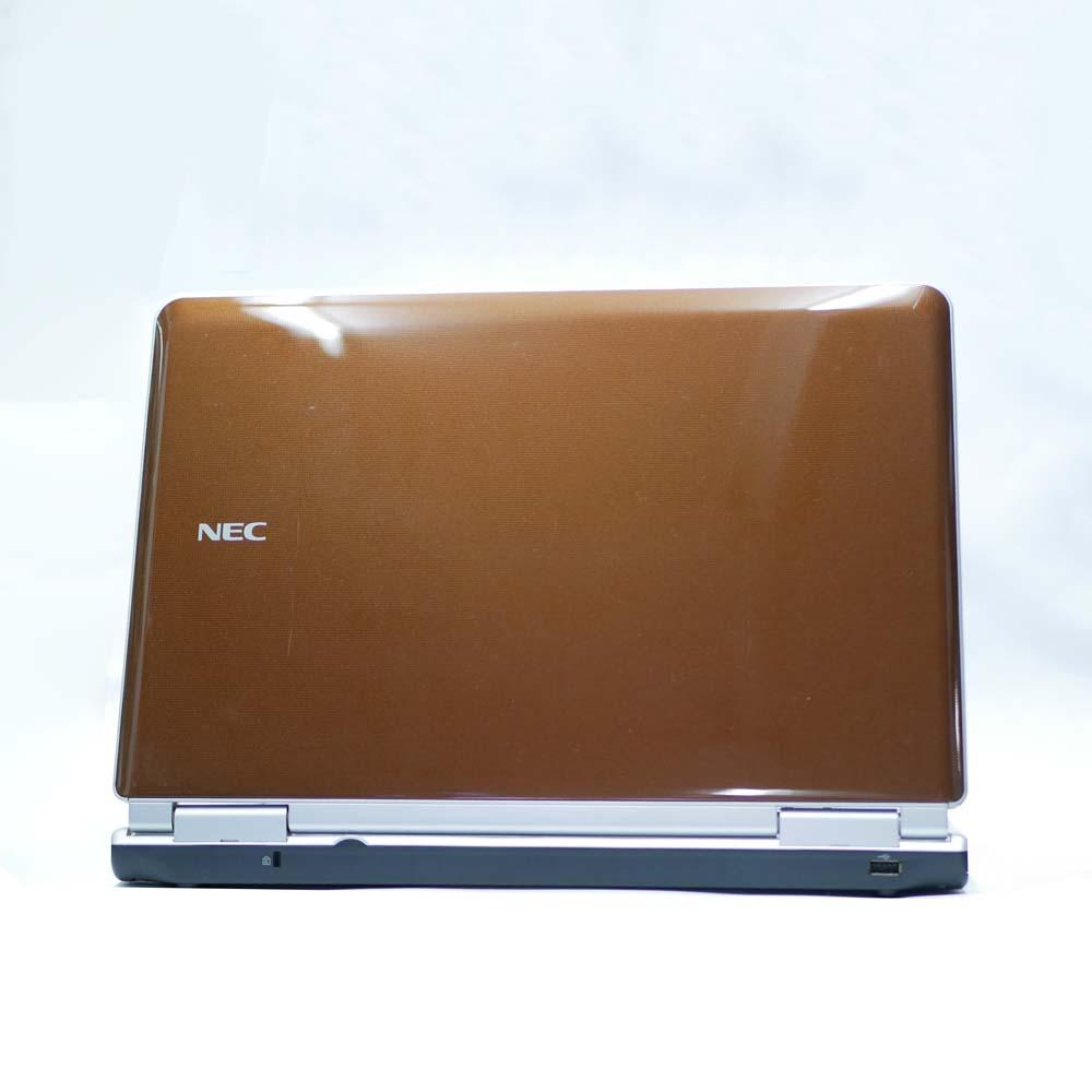 NEC Lavie LL750/Dの背面