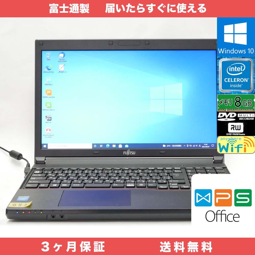 富士通 LIFEBOOK A553/GX WPS office
