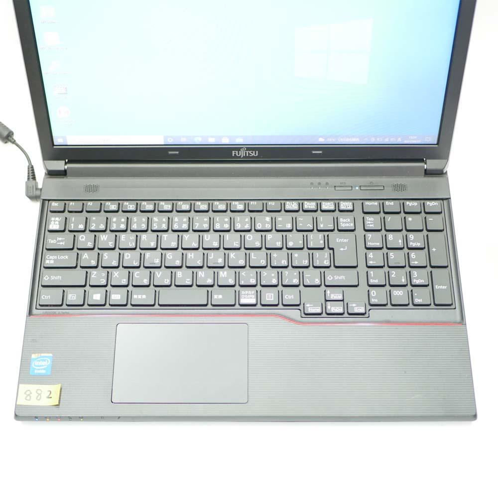 富士通 LIFEBOOK A553/GXのキーボード