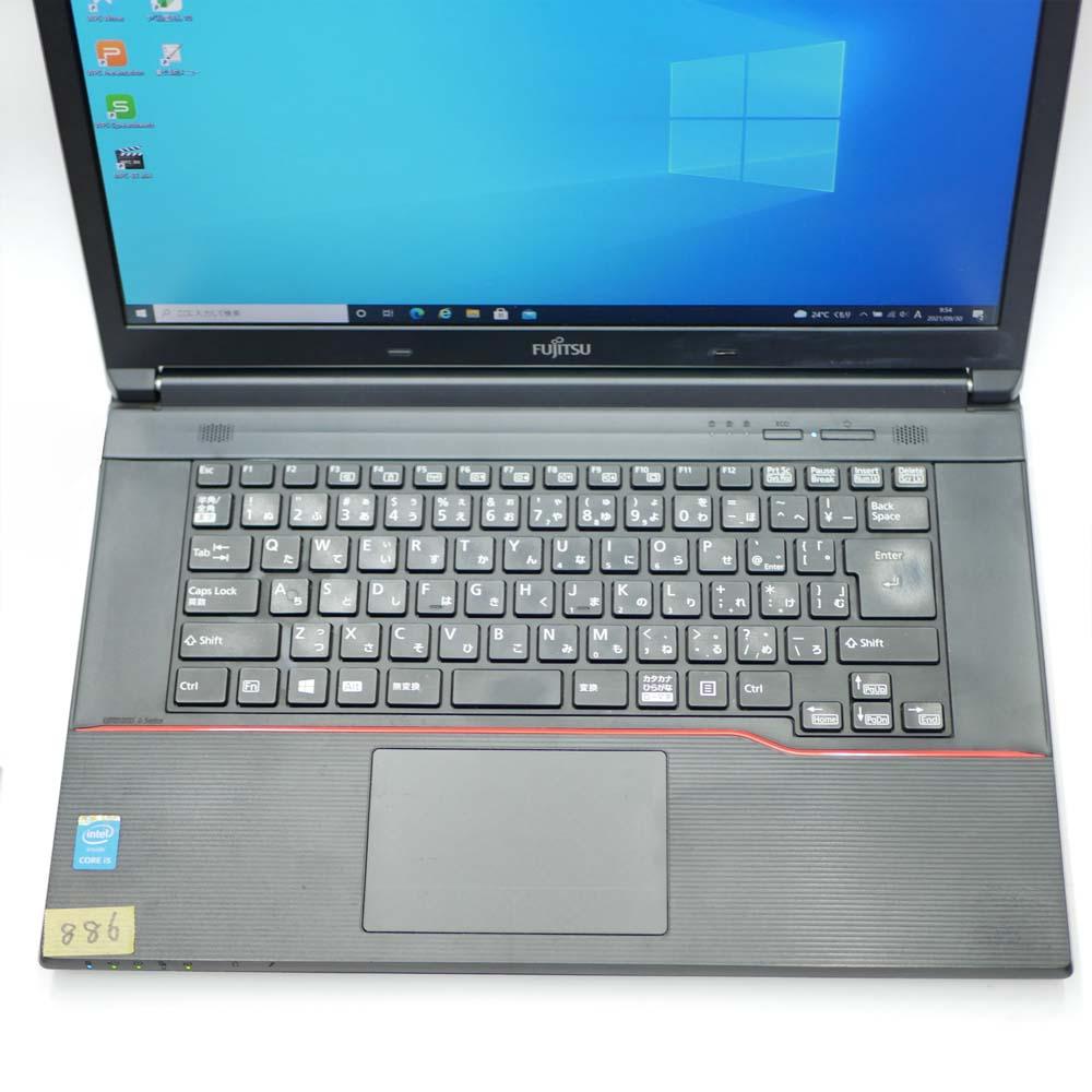 富士通 LIFEBBOK AH574/Kのキーボード